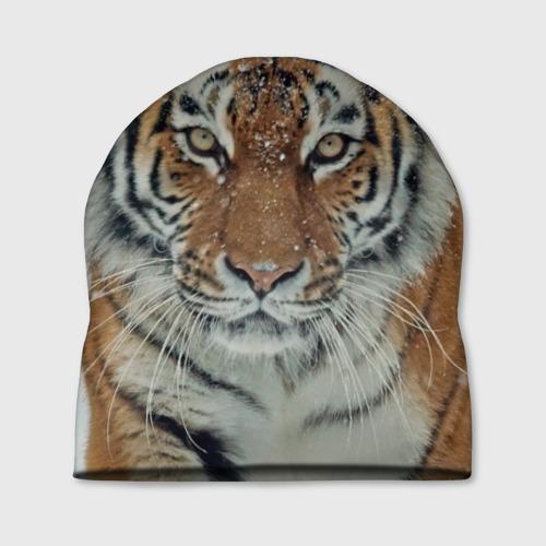 Шапка 3D  Фото 01, Тигр