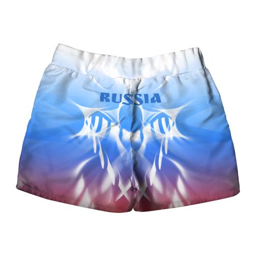 Женские шорты 3D  Фото 02, Россия и узоры