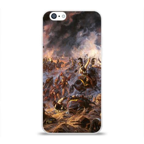 Чехол для Apple iPhone 6 силиконовый глянцевый  Фото 01, 1812 война
