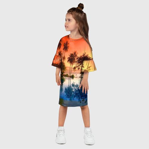 Детское платье 3D  Фото 03, Таиланд