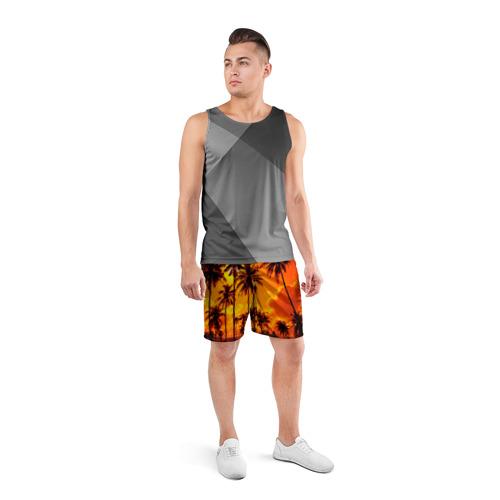 Мужские шорты 3D спортивные  Фото 04, Таиланд