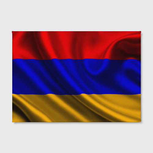 Холст прямоугольный  Фото 02, Флаг Армения