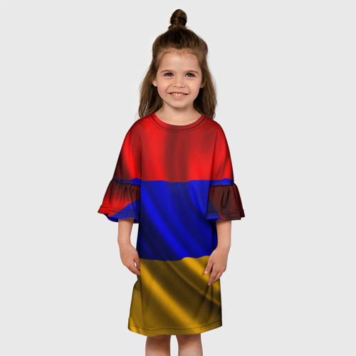 Детское платье 3D  Фото 01, Флаг Армения