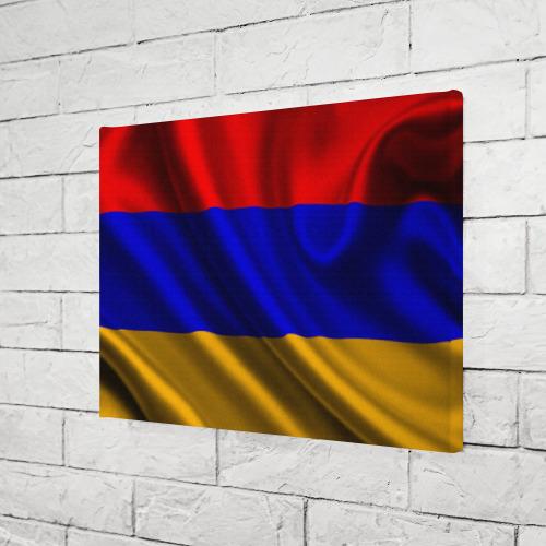 Холст прямоугольный  Фото 03, Флаг Армения