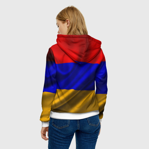Женская толстовка 3D  Фото 04, Флаг Армения