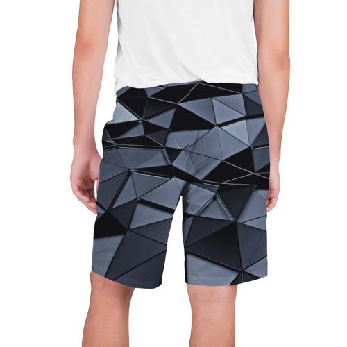 Мужские шорты 3D Abstract Gray Фото 01