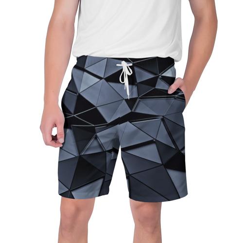 Мужские шорты 3D Abstract Gray