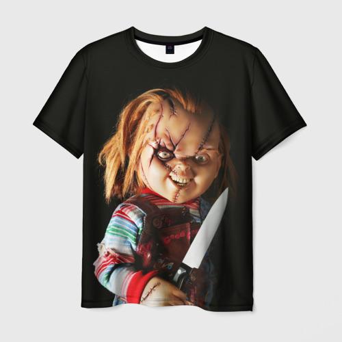 Мужская футболка 3D Чаки Фото 01