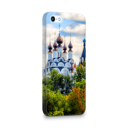 Чехол для Apple iPhone 5/5S 3D  Фото 02, Храм