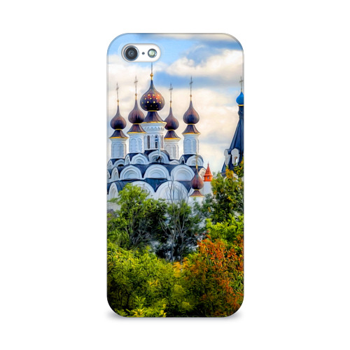 Чехол для Apple iPhone 5/5S 3D  Фото 01, Храм
