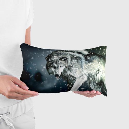 Подушка 3D антистресс  Фото 03, Волк