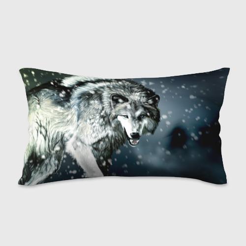 Подушка 3D антистресс  Фото 02, Волк