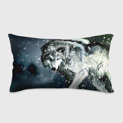 Подушка 3D антистресс  Фото 01, Волк