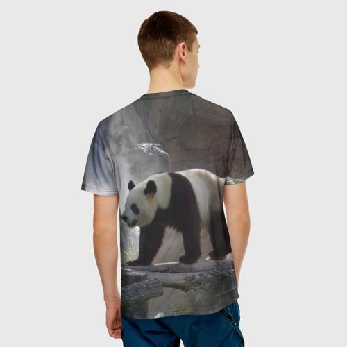 Мужская футболка 3D  Фото 02, Панда