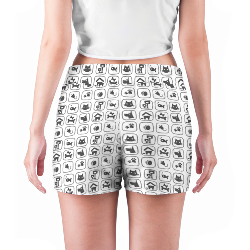 Женские шорты 3D  Фото 04, Иконки, животный мир