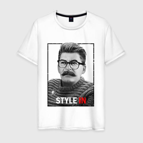 Мужская футболка хлопок Style in Фото 01
