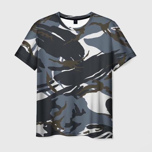 Мужская футболка 3D  Фото 01, Камуфляж