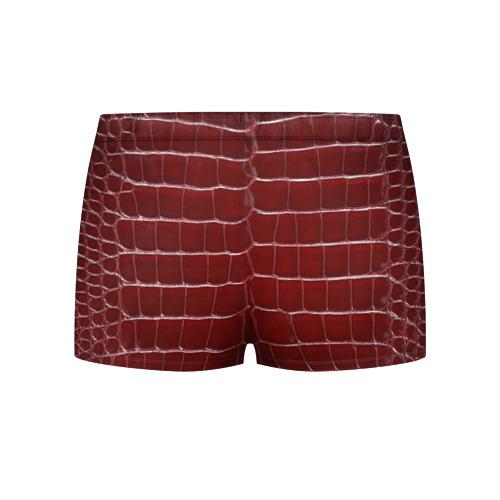 Мужские трусы 3D  Фото 02, Камуфляж змеиная кожа, красный