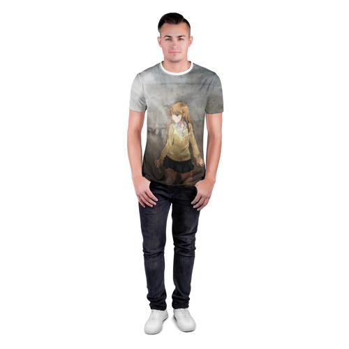 Мужская футболка 3D спортивная  Фото 04, Аниме