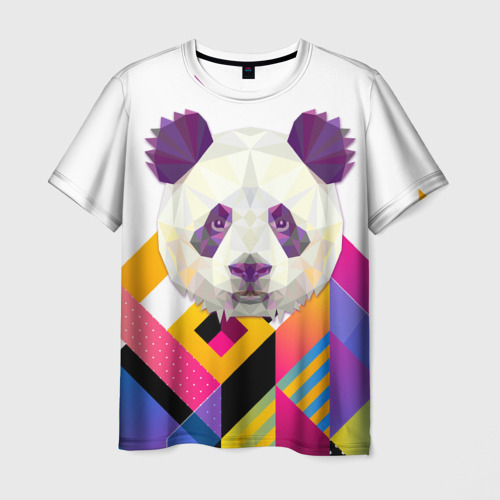 Мужская футболка 3D Панда