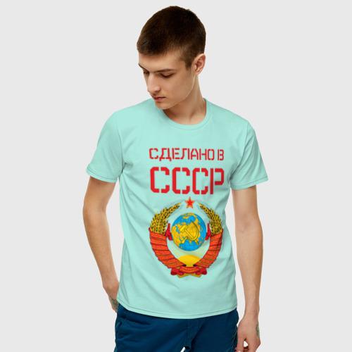Мужская футболка хлопок Сделано в СССР Фото 01