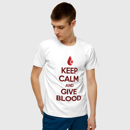 KEEP CALM AND GIVE BLOOD