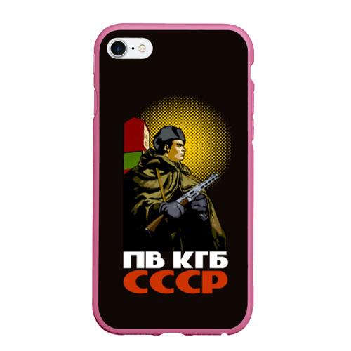 Чехол для iPhone 6Plus/6S Plus матовый ПВ КГБ СССР Фото 01