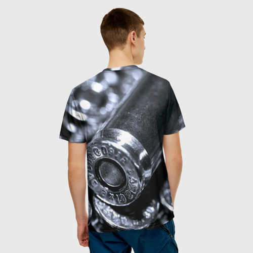 Мужская футболка 3D  Фото 02, Гильзы