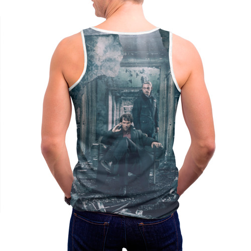 Мужская майка 3D  Фото 04, Шерлок и Ватсон