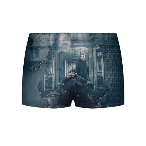 Мужские трусы 3D  Фото 02, Шерлок и Ватсон