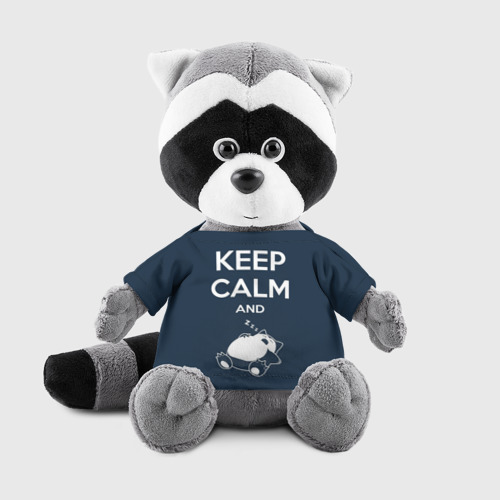 Енотик в футболке 3D Keep calm and zzz Фото 01