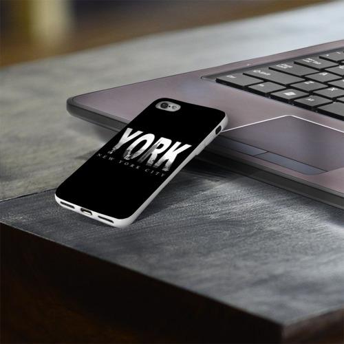Чехол для Apple iPhone 8 силиконовый глянцевый  Фото 03, Нью-Йорк