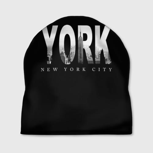 Шапка 3D Нью-Йорк