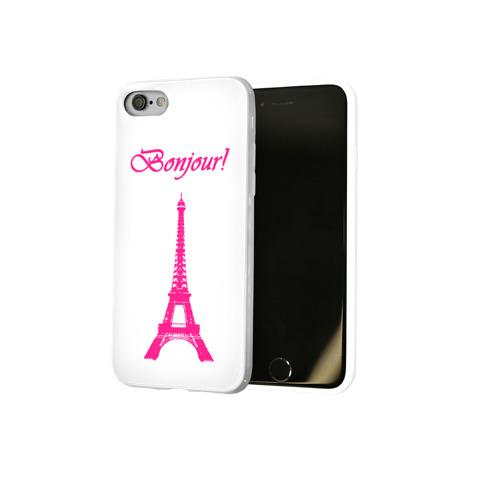 Чехол для Apple iPhone 8 силиконовый глянцевый  Фото 02, Bonjour