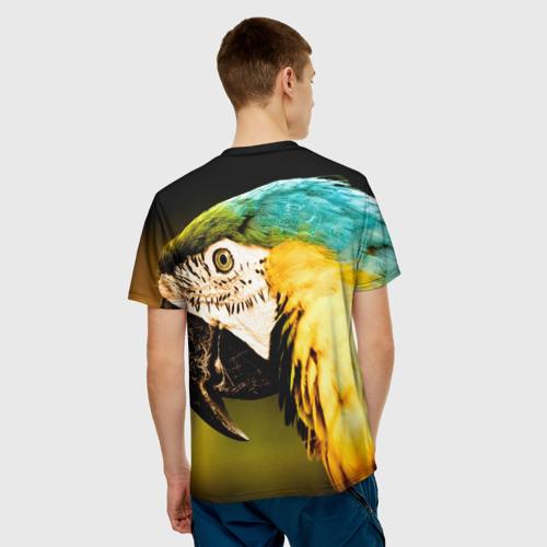 Мужская футболка 3D  Фото 02, Попугай