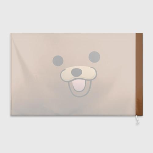 Флаг 3D  Фото 02, Медведь