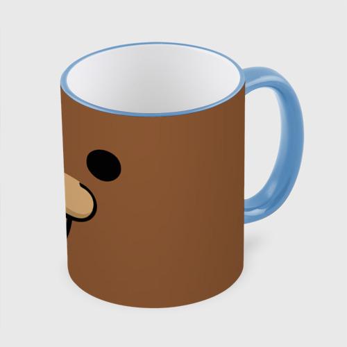 Кружка с полной запечаткой  Фото 01, Медведь