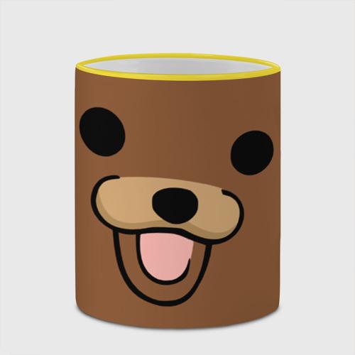 Кружка с полной запечаткой  Фото 03, Медведь