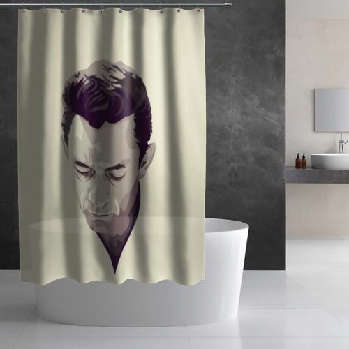 Штора 3D для ванной  Фото 02, Джонни Кэш