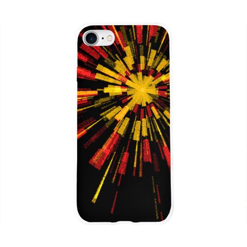 Чехол для Apple iPhone 8 силиконовый глянцевый  Фото 01, Звезда по имени Любовь