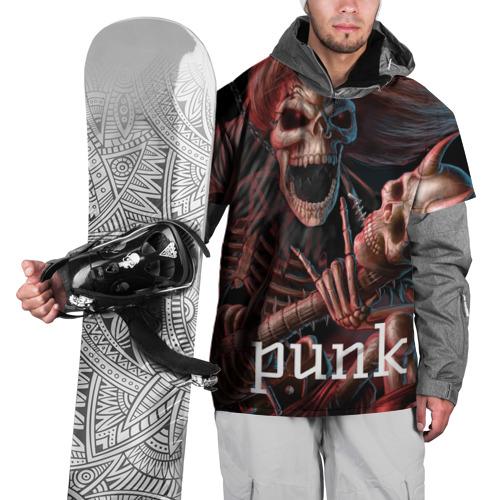 Накидка на куртку 3D  Фото 01, Punk