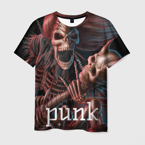 Мужская футболка 3D Punk