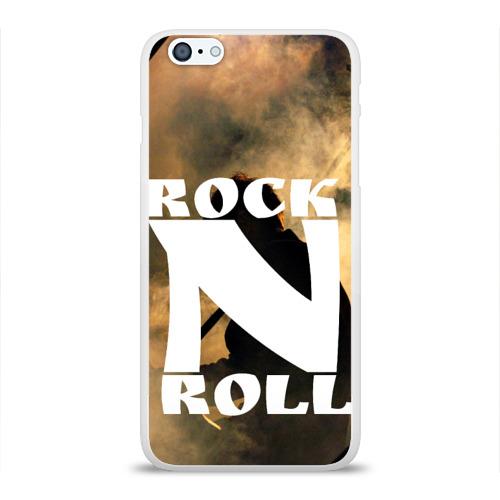 Чехол для Apple iPhone 6Plus/6SPlus силиконовый глянцевый  Фото 01, Rock n roll