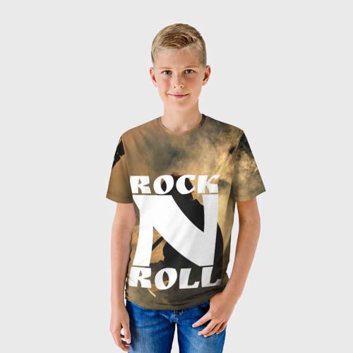 Детская футболка 3D  Фото 01, Rock n roll