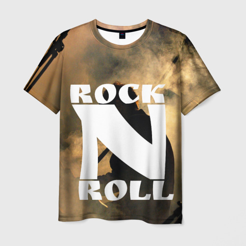 Мужская футболка 3D Rock n roll