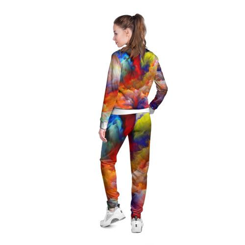 Женская олимпийка 3D  Фото 04, Цвета