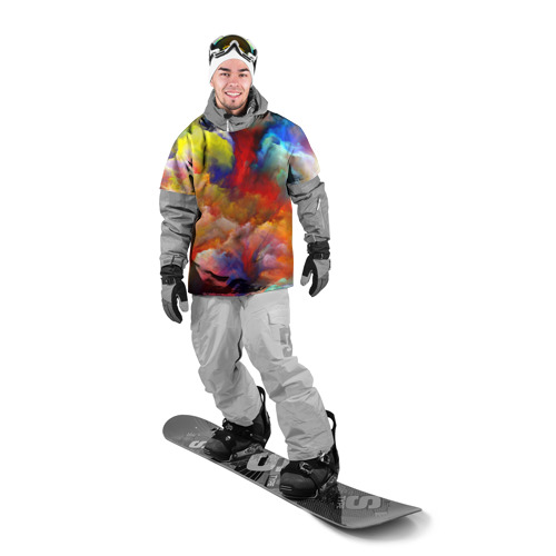 Накидка на куртку 3D  Фото 03, Цвета