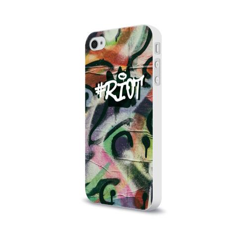 Чехол для Apple iPhone 4/4S soft-touch  Фото 03, Riot