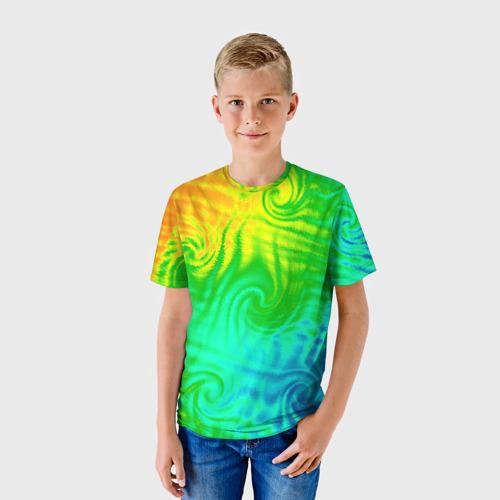 Детская футболка 3D Цвет-2