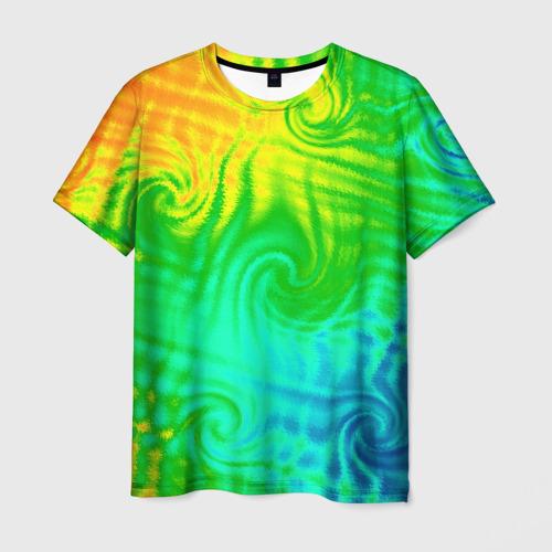 Мужская футболка 3D Цвет-2